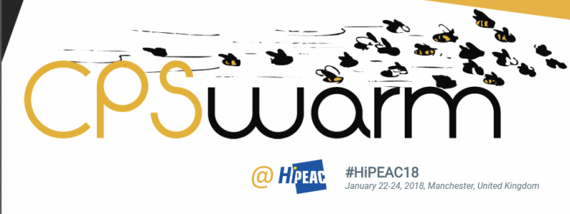 CPSwarm at HiPEAC 2018 Conference