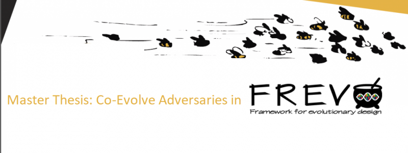 Master Thesis: Co-Evolve Adversaries in FREVO
