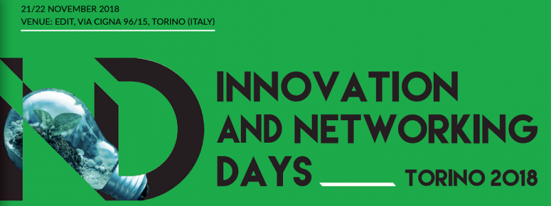 Innovation and Networking Days 2018